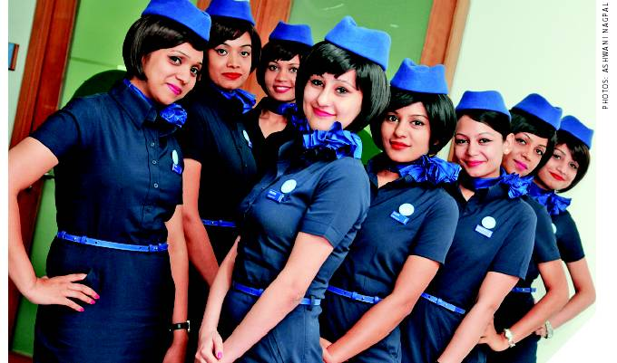 Become an Air hostess -Qualification, Training,Course, Jobs